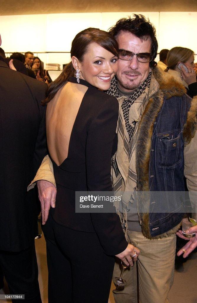 Martine Mccutcheon, Russell Crowe Oscar Nomination Cocktail & Dinner Party, New Giorgio Armani Shop, Bond Street & Supper & Hakkasan, London.