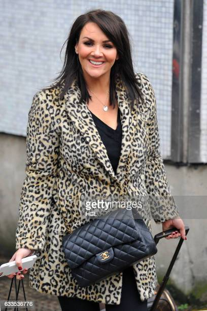 Martine McCutcheon seen at the ITV Studios on February 2 2017 in London England