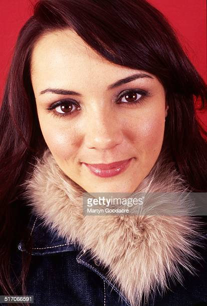 Martine McCutcheon studio portrait London United Kingdom 2000