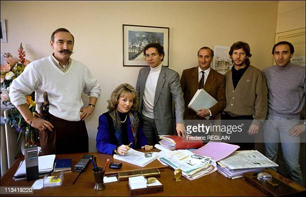 Martine Monteil Elected Woman Of The Year On December 7Th1990