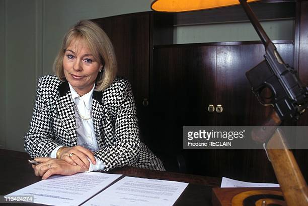 Martine Monteil Of 'Criminal' Divisional Commissioner On February 8th 1996 In ParisFrance