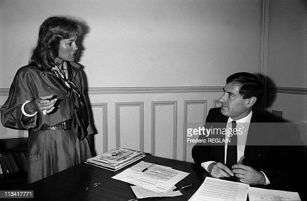 Martine Monteil The Police Superintendent Of The Drug Squad And The Procuring On June 4th 1986 In ParisFrance