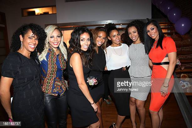 Martine Po Johnson Anjelica Jenn Hammer Ashley Weatherspoon Nycole Russell and Bridget Kelly attend the Precious Dreams Foundation 2nd Annual Sweet...