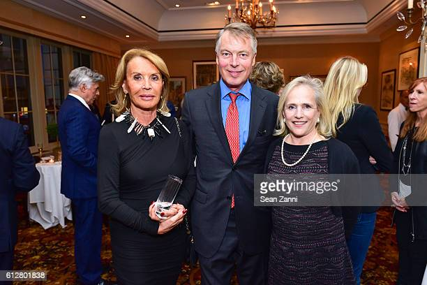 Martine Schaefer Richard Johnson and Ann Barish at Jay McInerney Book Party for 'Bright Precious Days' Hosted by Audrey Gruss at 21 Club on October 4...