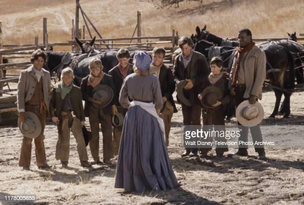 Martinez, Clay O'Brien, Kerry MacLane, Sean Kelly, Clint Howard, Robert Carradine, Mitch Brown, Moses Gunn appearing in the ABC tv series 'The...