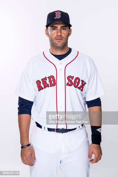 D Martinez of the Boston Red Sox poses for a portrait during a team workout on March 1 2018 at Fenway South in Fort Myers Florida