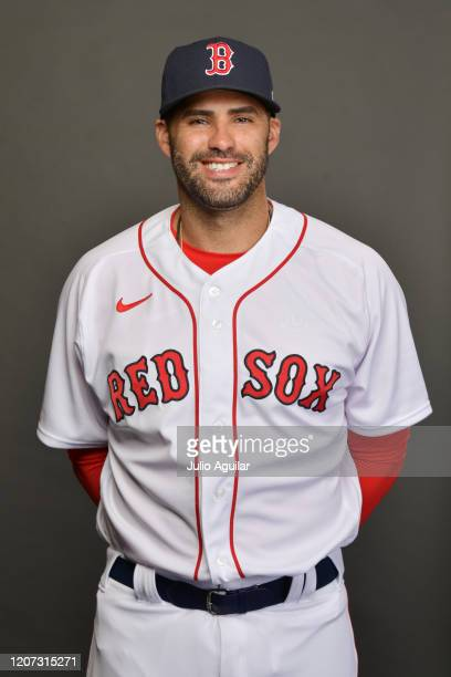 Martinez of the Boston Red Sox poses for Photo Day at Jet Blue Park at Fenway South on February 19, 2020 in Fort Myers, Florida.