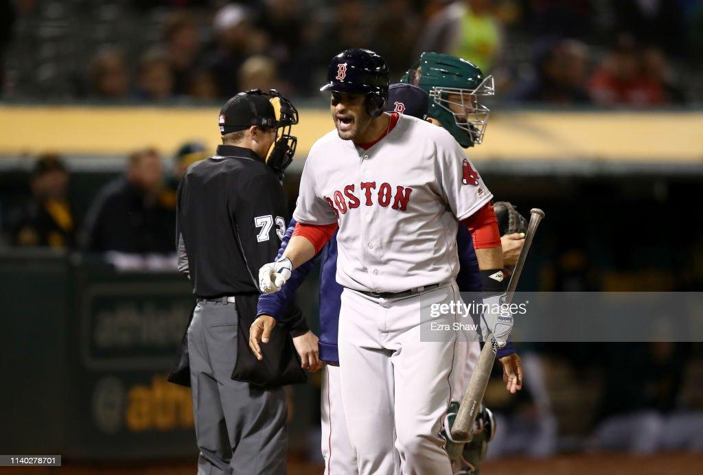 Boston Red Sox v Oakland Athletics : ニュース写真