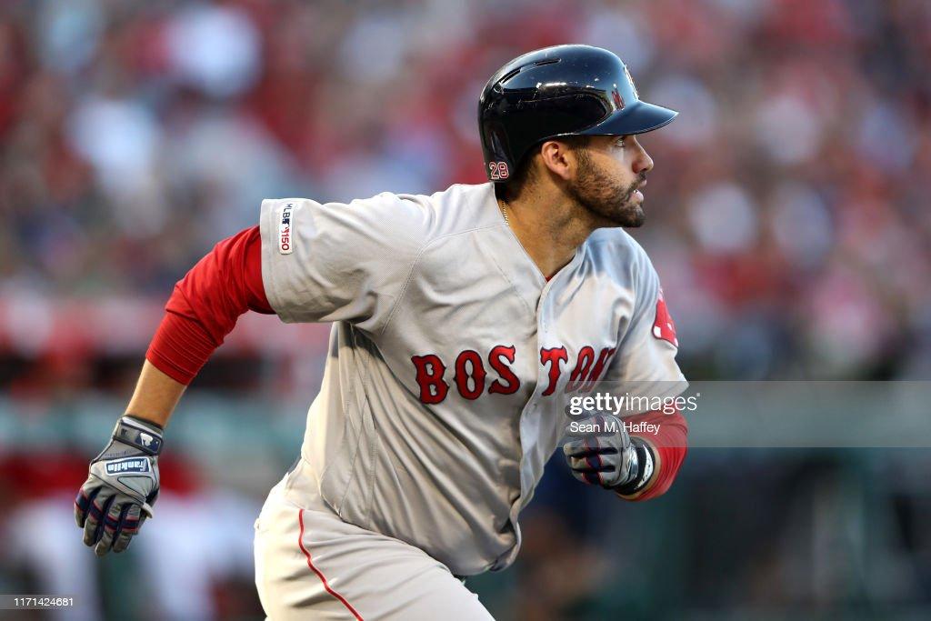 Boston Red Sox v Los Angeles Angels of Anaheim : News Photo