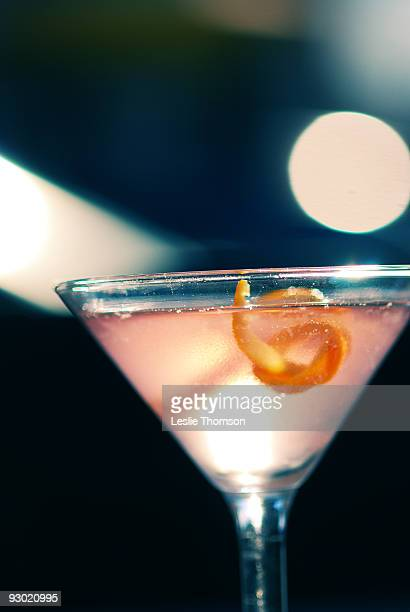 A martini drink
