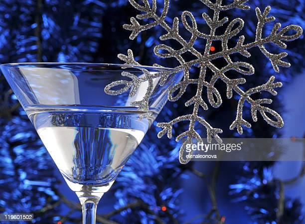 Martini in the glass