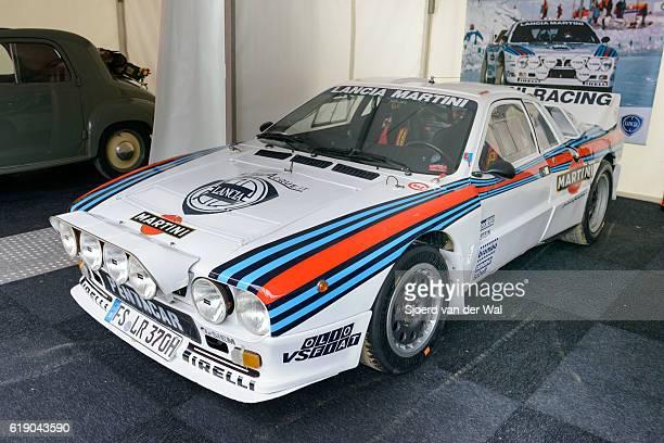 """martini racing group b lancia 037 rally car - """"sjoerd van der wal"""" fotografías e imágenes de stock"""