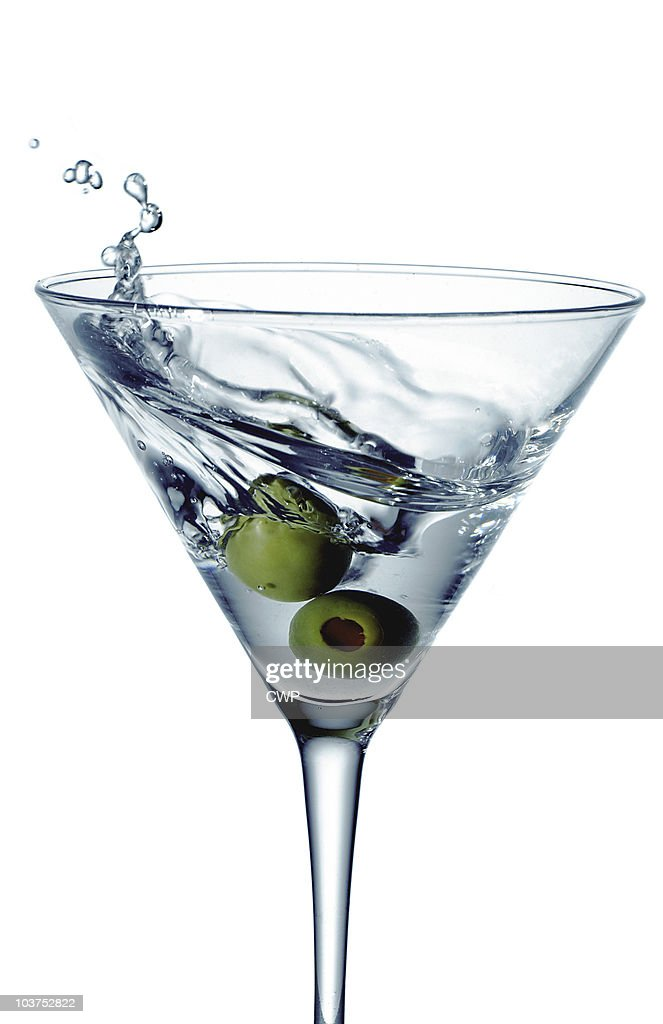 Martini Swirl : Stock Photo