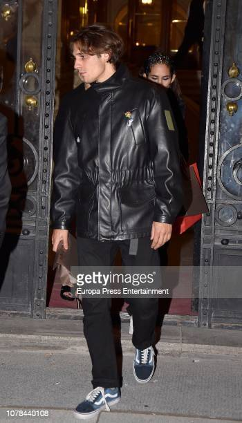 Martino Rivas attends the Blanca Suarez's 30th birthday party on October 27 2018 in Madrid Spain