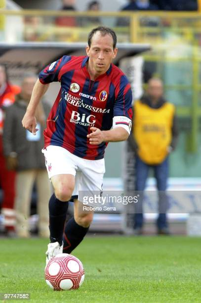 Martins Bolzan Adailton of Bologna in action during the Serie A match between Bologna FC and UC Sampdoria at Stadio Renato Dall'Ara on March 14 2010...