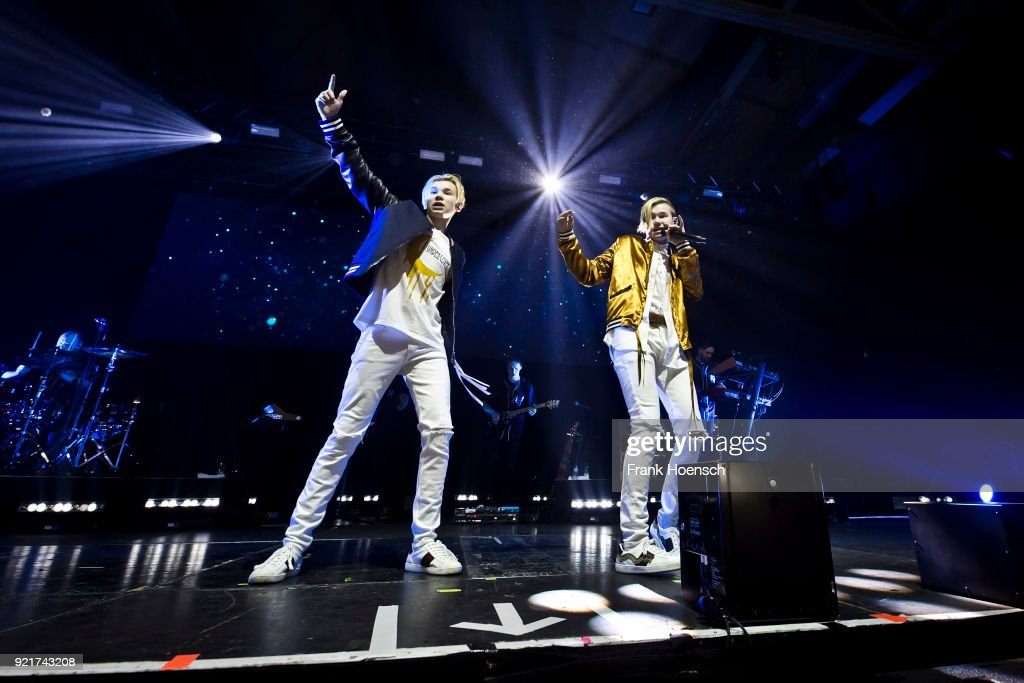 Marcus & Martinus Perform In Berlin