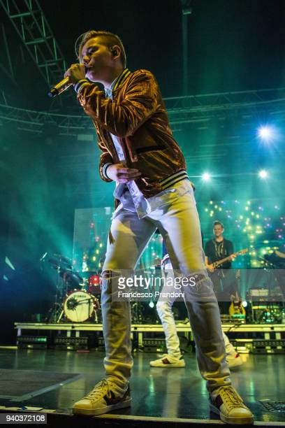 Martinus of Marcus Martinus performs on stage at Fabrique on March 30 2018 in Milan Italy