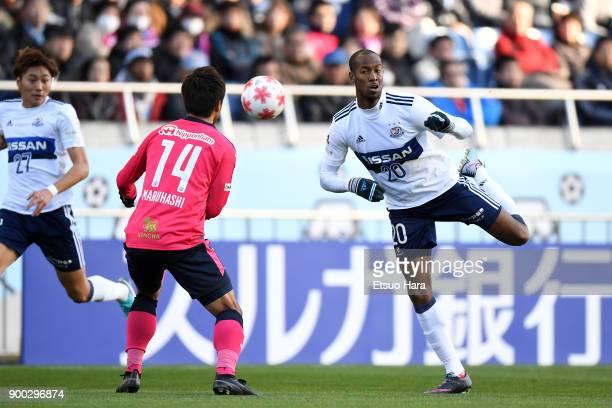 Martinus of Yokohama FMarinos in action during the 97th All Japan Football Championship final between Cerezo Osaka and Yokohama FMarinos at the...