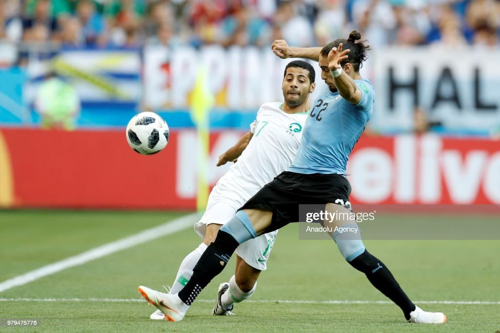 Uruguay v Saudi Arabia : Group A - 2018 FIFA World Cup Russia : News Photo