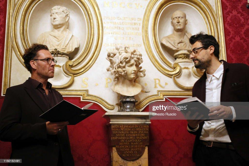 "ITA: ""Rovine - La nostalgia del poeta"" Reading in Rome"