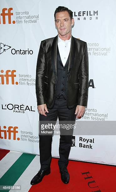 Marton Csokas arrives at the premiere of during the 2014 Toronto International Film Festival - Day 4 on September 7, 2014 in Toronto, Canada.