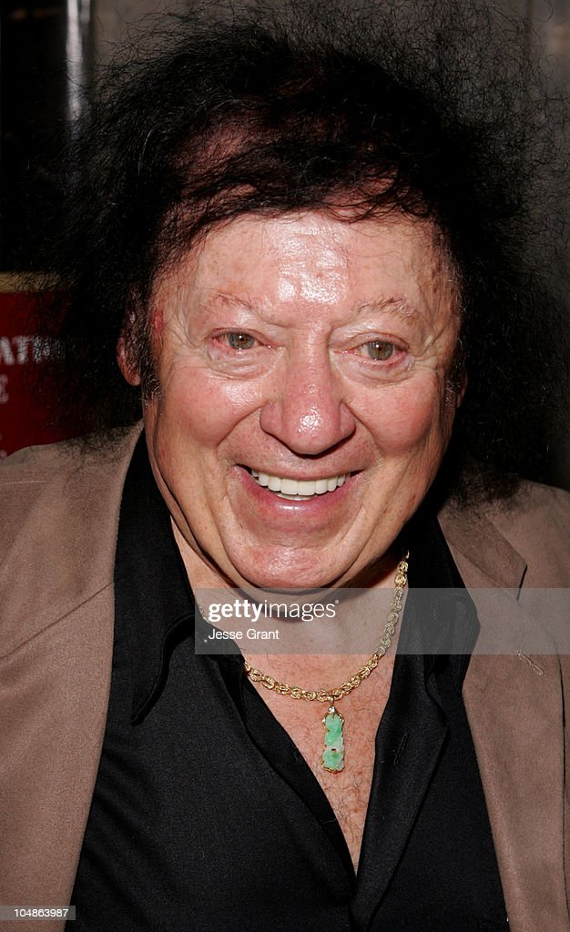 Marty Allen during Linda Hopkins Honored with a Star on the Hollywood Walk of Fame at The Pantages Theatre in Hollywood, California, United States.