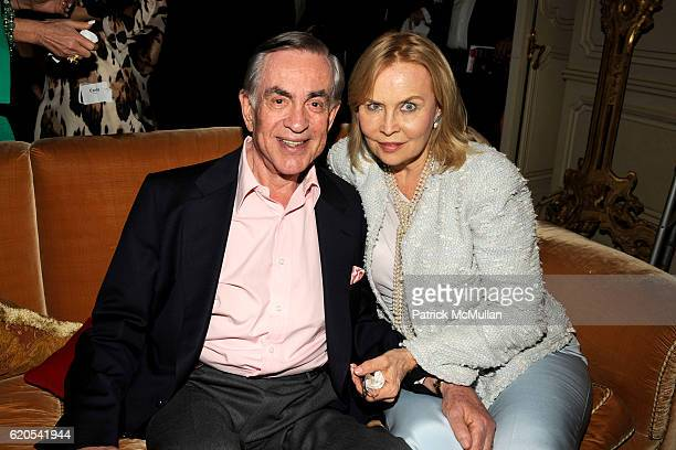 Marty Bregman and Cornelia Sharpe Bregman attend MICHELE and LAWRENCE HERBERT Kickoff Party For The NYU Tisch School of The Arts Fall Gala, honoring...