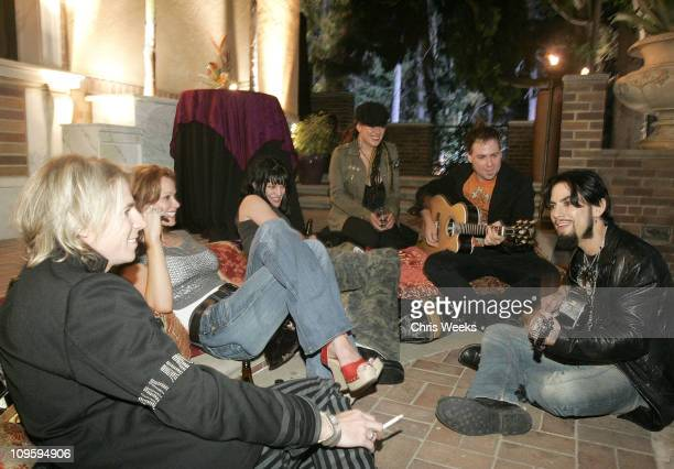 Marty Casey Lauren Holly Pauley Perrette and Dave Navarro