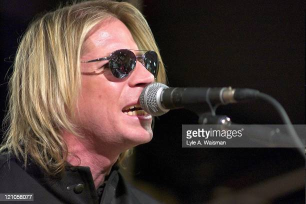 Marty Casey of the Lovehammers during Marty Casey and the Lovehammers In-Store Appearance at the Virgin Megastore in Chicago at Virgin Megastore in...