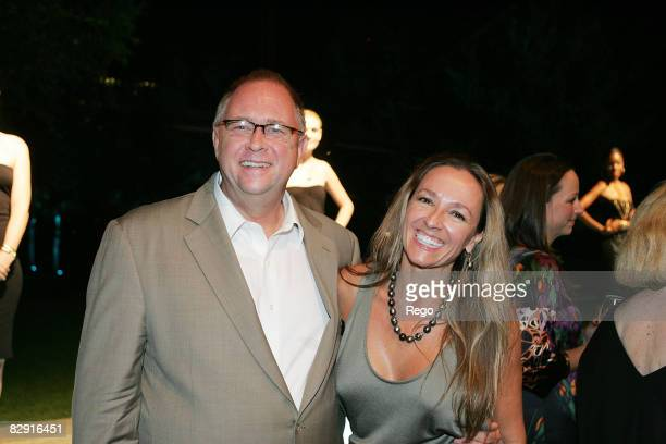 Marty Collins and Josette Cooner attend the DY VIP dinner hosted by David Yurman at Nasher Sculpture Center on September 17, 2008 in Dallas, Texas.