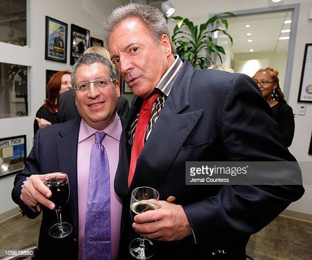 Marty Diamond Music Department Head of the Paradigm New York Music Division amd Actor Armand Desante at the Paradigm Cocktail Party for Tribeca Film...