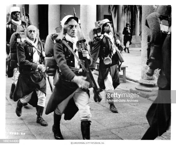 Marty Feldman joins the Foreign Legion in a scene from the film 'The Last Remake Of Beau Geste' 1977