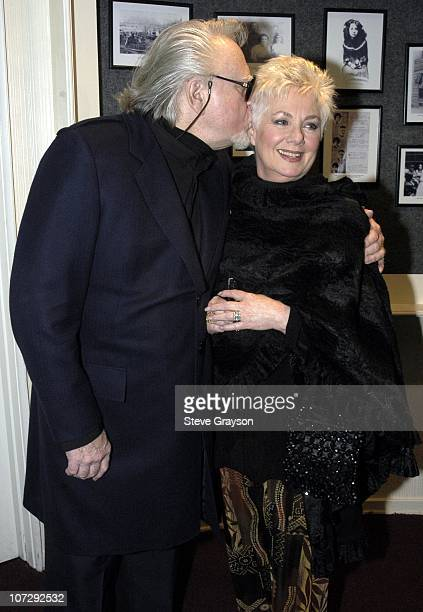 Marty Ingels and Shirley Jones during Renee Taylor's OneWoman Stage Portrait An Evening With Golda Meir Premiere Engagement at The Canon Theater in...