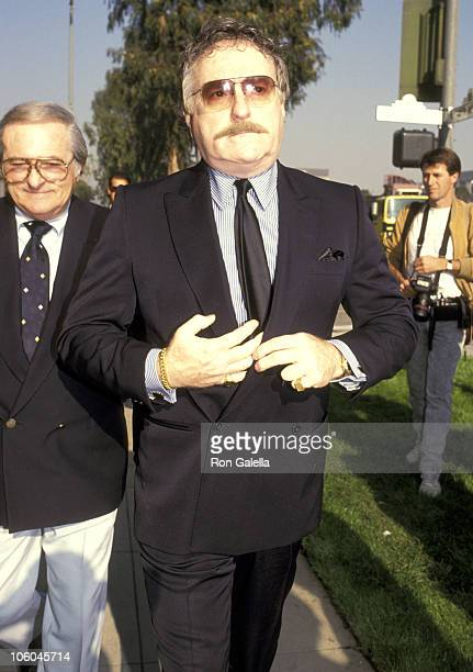 Marty Ingels during Funeral for Danny Thomas February 8 1991 at Good Shepherd Church in Beverly Hills California United States