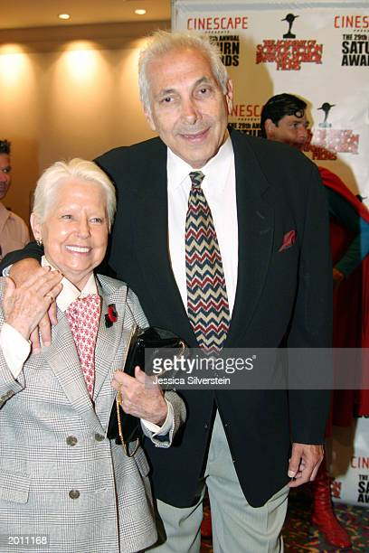 Marty Krofft And His Wife At The 29th Annual Saturn Awards Presented By Cinescape On May