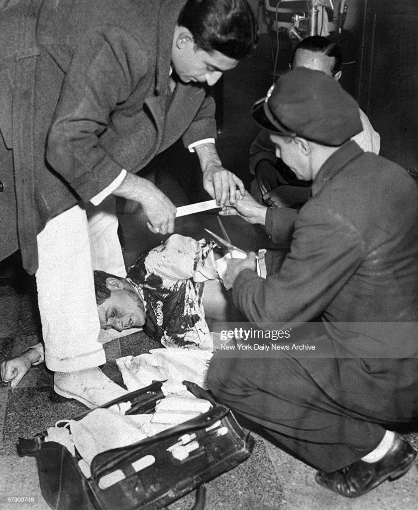 Marty Krompier, chief lieutenant to Dutch Schultz, receives  : Photo d'actualité