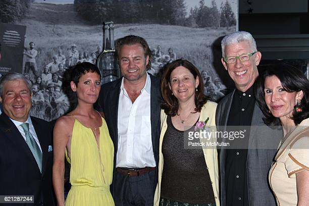 Marty Markowitz Arianne Sabatini Dean Crutchfield Karen Hopkins Ken Brechner and Katherine Oliver attend SUNDANCE INSTITUTE at BAM Opening Night...