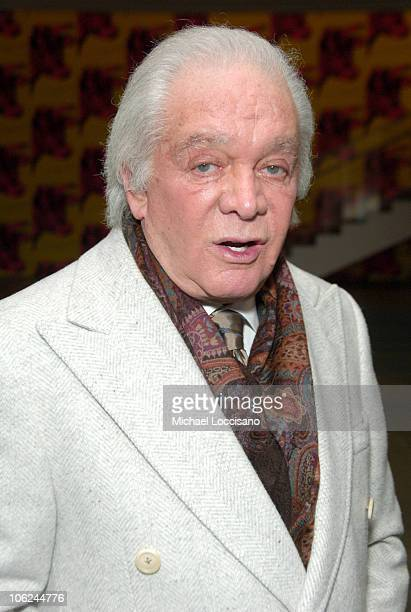Marty Richards during Miss Potter Special Private Screening at MoMA Theatre in New York City New York United States