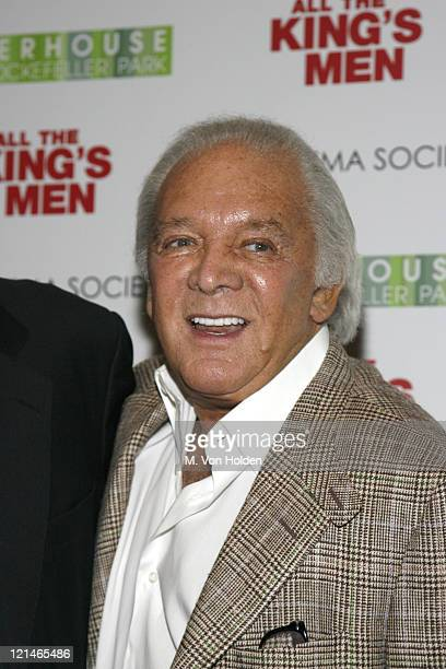 """Marty Richards during The Cinema Society Screening of """"All the Kings Men"""" at Regal Cinema Battery Park in New York, NY, United States."""
