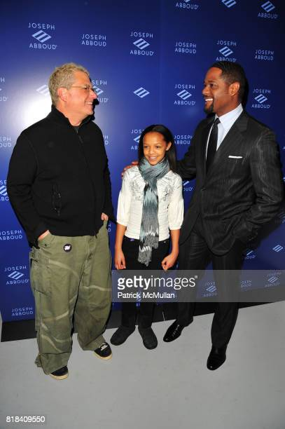 Marty Staff Brielle Underwood and Blair Underwood attend JA Apparel Corp Debuts New JOSEPH ABBOUD Showroom at JA Apparel Corp Showroom 650 Fifth...
