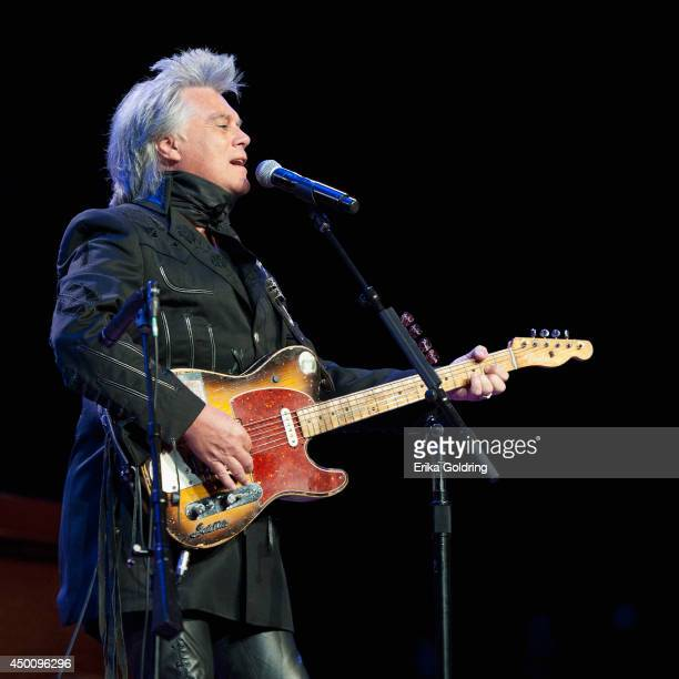 Marty Stuart performs during Marty Stuart's 13th Annual Late Night Jam at the Ryman Auditorium on June 4, 2014 in Nashville, Tennessee.