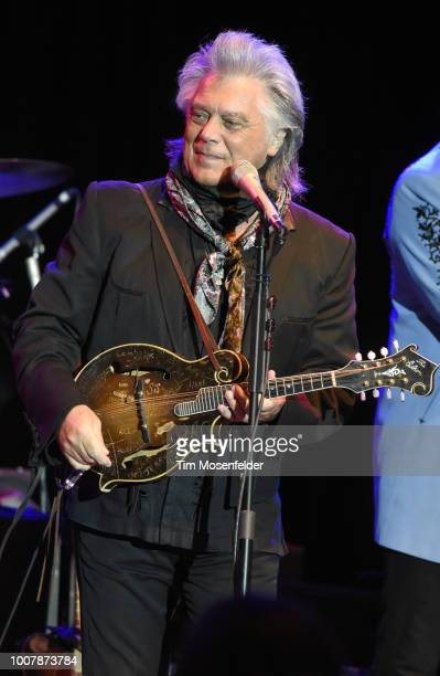 Marty Stuart performs during the Sweetheart of the Rodeo Reunion at The Mountain Winery on July 29, 2018 in Saratoga, California.