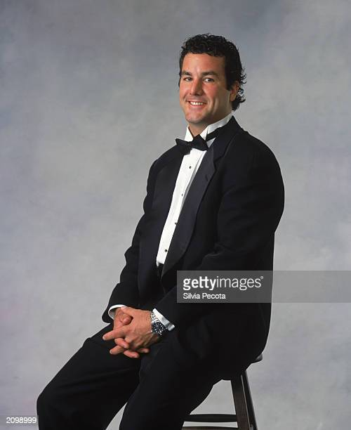 Marty Turco of the Dallas Stars poses for a portrait during the 200203 NHL Awards at the Convention Centre on June 12 2003 in Toronto Ontario
