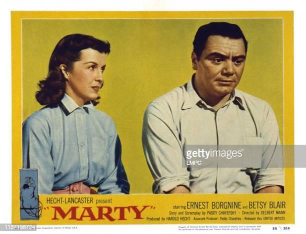 Betsy Blair Ernest Borgnine 1955