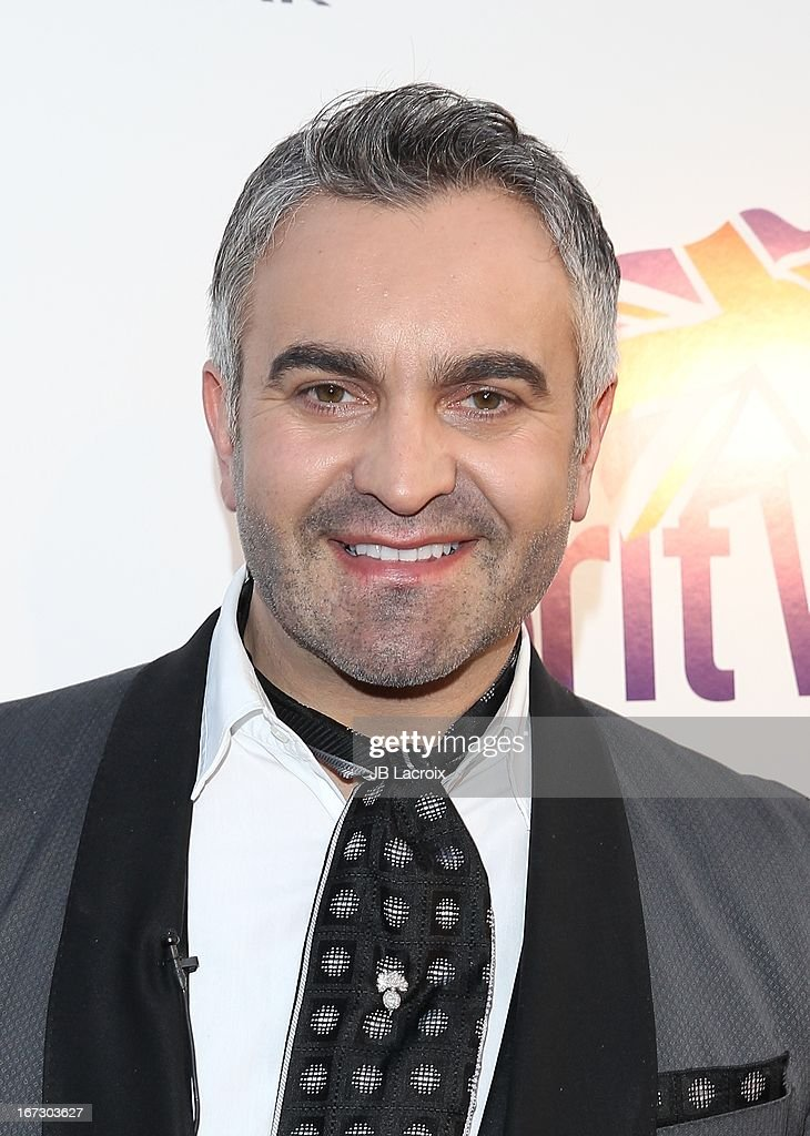 Martyn Lawrence Bullard attends the 7th Annual BritWeek Festival 'A Salute To Old Hollywood' launch party held at The British Residence on April 23, 2013 in Los Angeles, California.