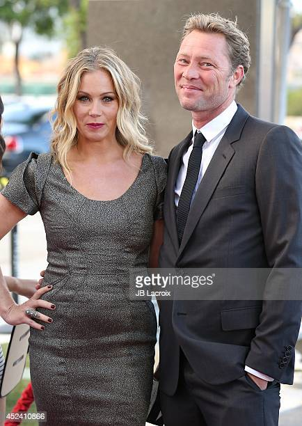 Martyn LeNoble and Christina Applegate attend the 4th Annual Celebration Of Dance Gala Presented By The Dizzy Feet Foundation at Dorothy Chandler...