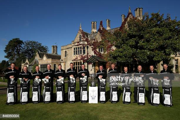Martyn Thompson Vice Captain of the Great Britain and Ireland PGA Cup team Damien McGrane Robert Coles Greig Hutcheon Christopher Currie Chris...