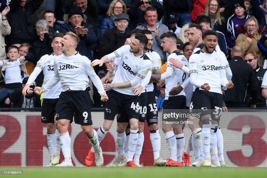 Derby County v West Bromwich Albion - Sky Bet Championship : ニュース写真