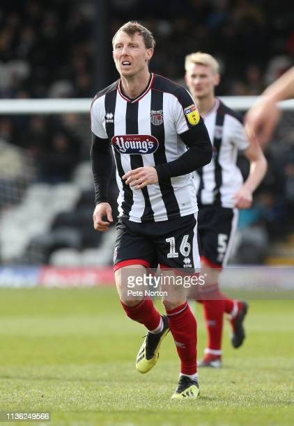 Martyn Woolford of Grimsby Town in action during the Sky Bet League Two match between Grimsby Town and Northampton Town at Blundell Park on March 16,...