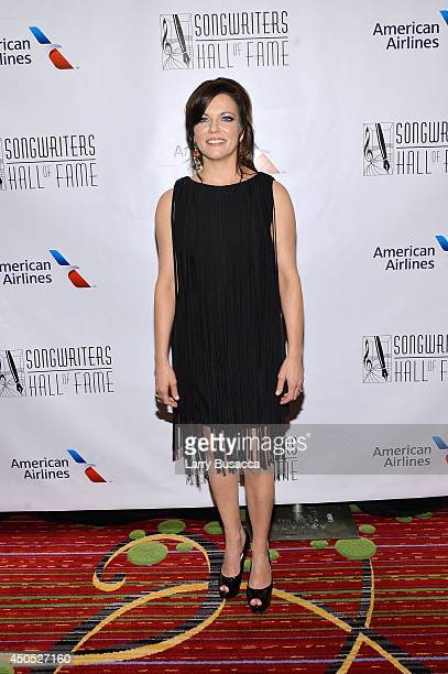 Martyna McBride attends Songwriters Hall of Fame 45th Annual Induction And Awards at Marriott Marquis Theater on June 12 2014 in New York City